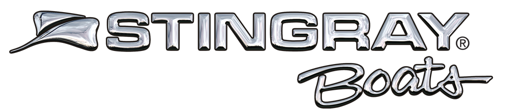 This image has an empty alt attribute; its file name is chrome_Stingray-Boats-logo-small-1.jpg